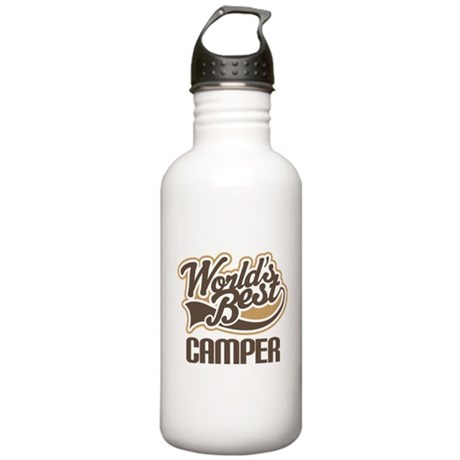 World's Best Camper Stainless Water Bottle 1.0L