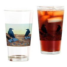 attempted murder Drinking Glass