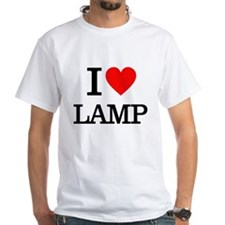 I Heart Lamp T-Shirt