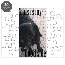 This is my good side. Puzzle