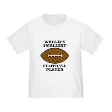Worlds Smallest Football Player T-Shirt