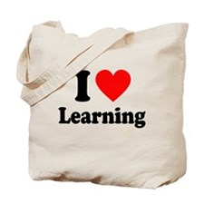 I Love Learning Tote Bag