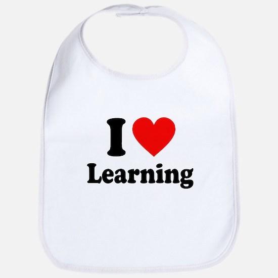I Love Learning Bib