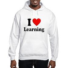 I Love Learning Hoodie