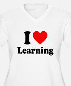 I Love Learning Plus Size T-Shirt