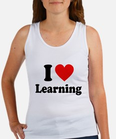 I Love Learning Tank Top