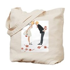 """""""Wedding Couple"""" (blondes) Tote Bag"""