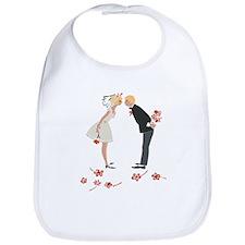"""Wedding Couple"" (blondes) Bib"