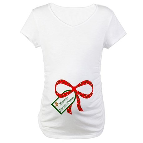 Mommys Favorite Present Maternity T-Shirt