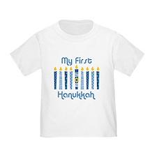 1st Hanukkah Candles T