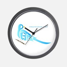 Peter blue bird Wall Clock