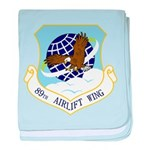 89th AW baby blanket