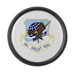 89th AW Large Wall Clock