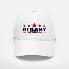 Albany City of Longevity Baseball Baseball Cap