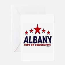 Albany City of Longevity Greeting Card