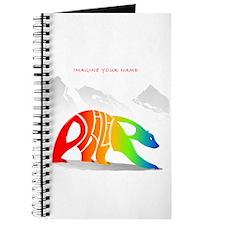 Philip rainbow bear Journal