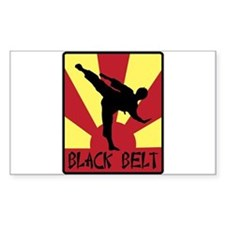 Black Belt Decal