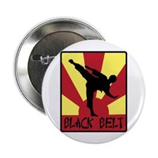 "Black Belt 2.25"" Button"