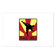Black Belt Postcards (Package of 8)