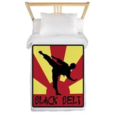 Black Belt Twin Duvet