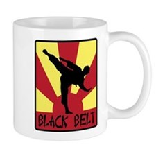 Black Belt Mugs