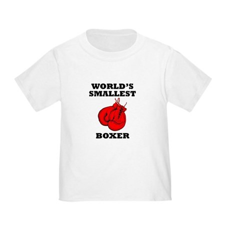 Worlds Smallest Boxer T-Shirt