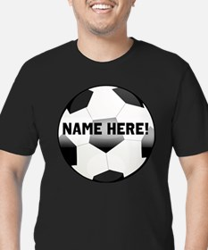 Personalized Name Soccer Ball T