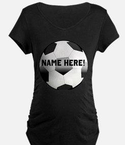Personalized Name Soccer Ball T-Shirt