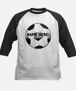 Personalized Name Soccer Ball Tee