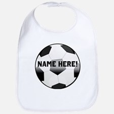 Personalized Name Soccer Ball Bib