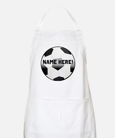 Personalized Name Soccer Ball Apron