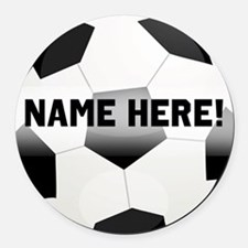 Soccer Car Magnets Personalized Soccer Magnetic Signs For Cars - Custom soccer ball car magnets