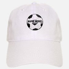 Personalized Name Soccer Ball Hat