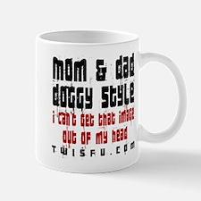 MOM DAD - WHITE Mugs