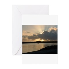 Sunrise in Tasmania Greeting Cards (Pk of 10)