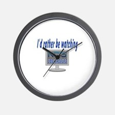 I'd Rather Be Watching NCIS LA Wall Clock