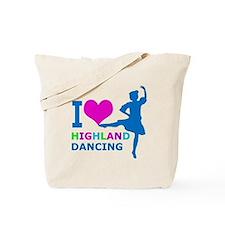 I LOVE highland dancing pink blue green purple Tot