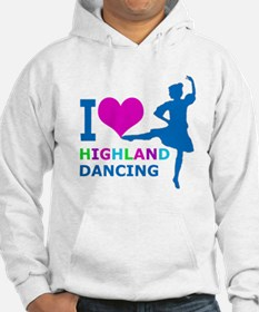 I LOVE highland dancing pink blue green purple Jum