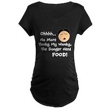 Long Duck Dong Maternity T-Shirt