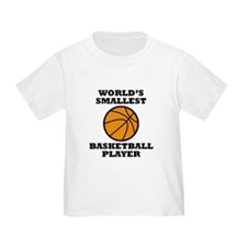 Worlds Smallest Basketball Player T-Shirt