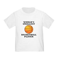 Worlds Smallest Basketball Player T-Shirt