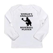 Worlds Smallest Baseball Player Long Sleeve T-Shir