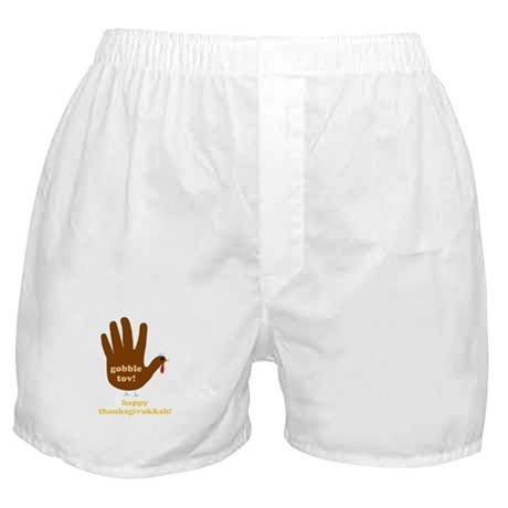 gobble tov! mens boxer shorts