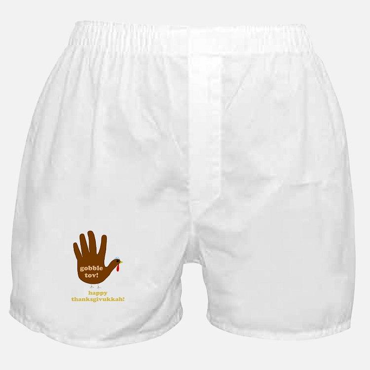 gobble tov! mens boxer shorts