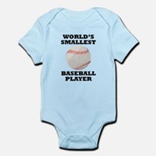 Worlds Smallest Baseball Player Body Suit