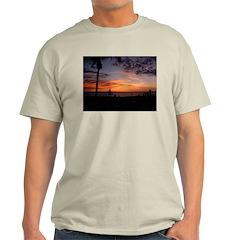 Dawin Sunset Ash Grey T-Shirt