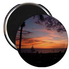 Dawin Sunset Magnet