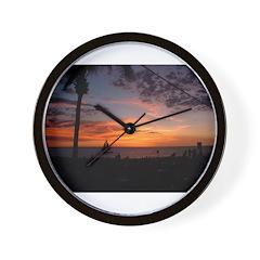 Dawin Sunset Wall Clock