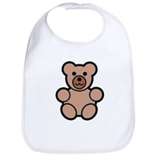 bear brown Bib