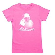 Santa Claus Believe Girl's Tee